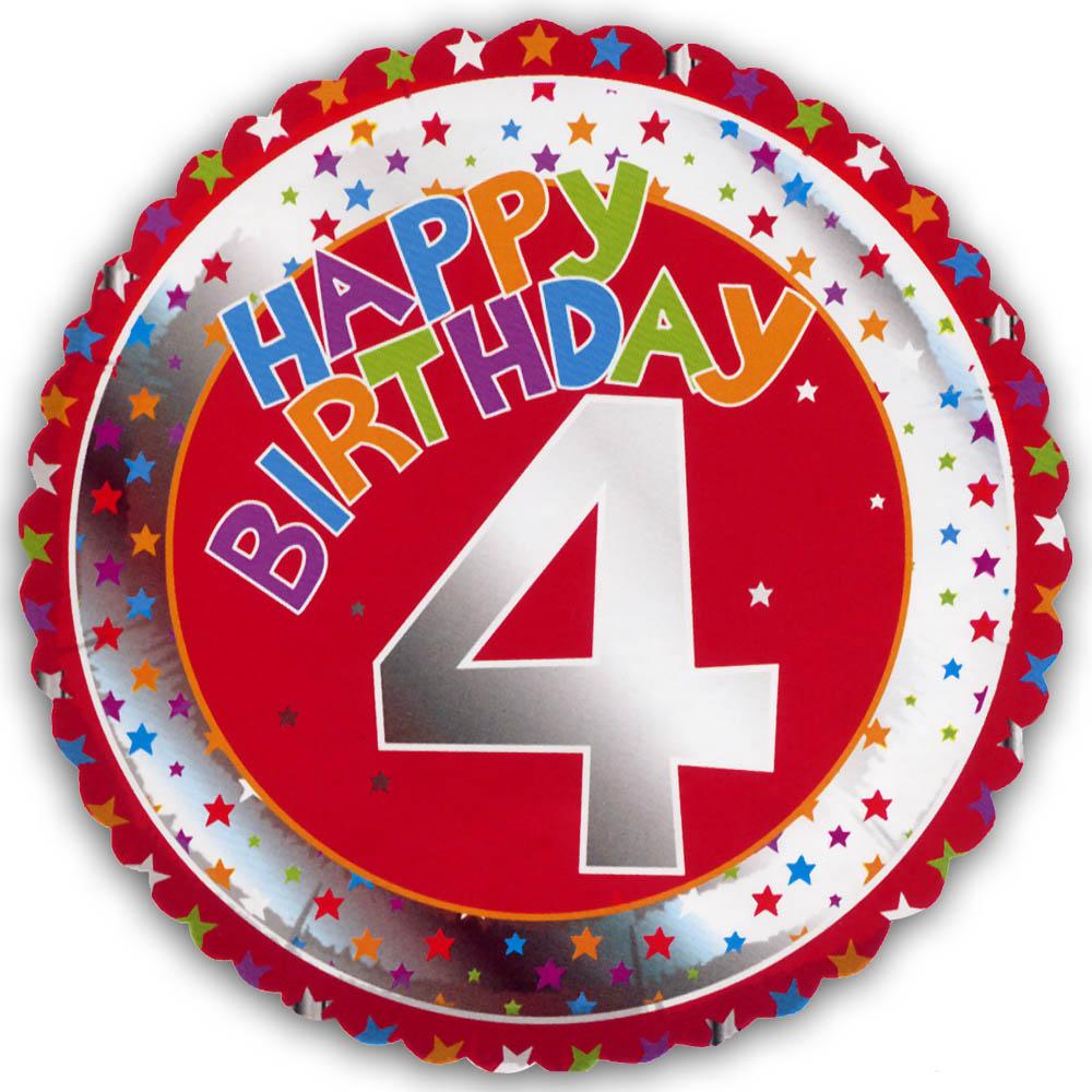 4th Birthday Wishes Alpha Ideas